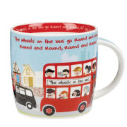 Little Rhymes Wheels on the Bus Spice Mug in Hatbox Gift Box (284ml) - Multi
