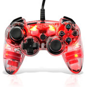 Afterglow Red Wireless PS3 Controller