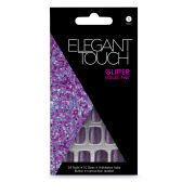 Elegant Touch Glitter Nails - Tickled Pink