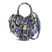 Vivienne Westwood Anglomania Women's Frilly Snake Heart Bag - Viola
