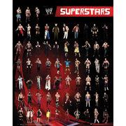 WWE Superstars Mini Poster (40 x 50cm)