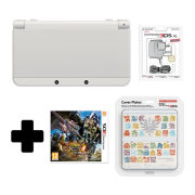 New Nintendo 3DS White - Monster Hunter 4 Ultimate Edition