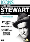 James Stewart Westerns: Destry Rides Again / Shenandoah / The Man From Laramie / Two Rode Together