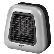 Pifco 500W Silver Portable Fan Heater