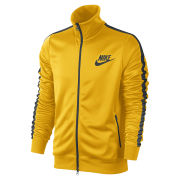 Nike Men's Tribute Track Jacket - Yellow/Green