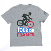 Tour De France Graphic T-Shirt - Grey