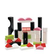 Brio 50 Piece Coloured Building Block Set