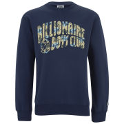 Billionaire Boys Club Men's Arch Logo Crew Neck Sweatshirt - Heather Navy