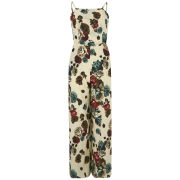 LOVE Women's Square Neck Jumpsuit - Multi