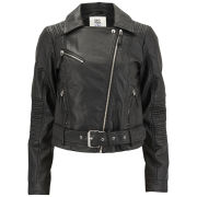 Vero Moda Women's Swift PU Jacket - Black