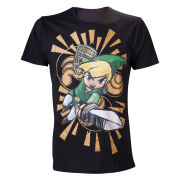 The Legend of Zelda - The Wind Waker - Men's T-Shirt - Black