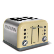 Morphy Richards New Accents 4 Slice Toaster - Cream