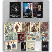 Marvel Agents of Shield Agent Coulson Vintage Captain America Trading Card Set