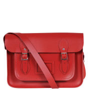 Cambridge Satchel Company 14 Inch Red Leather Satchel