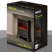Pifco 2000W Log Effect Stove Fire