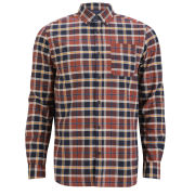 Jack & Jones Premium Men's Jason Checked Shirt - Red