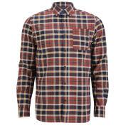 Jack & Jones Premium Men's Jason Checked Shirt - Red