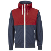 55 Soul Men's Reggie Jacket - Red/Navy/White