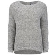 Vero Moda Women's Tango Zip Jumper - Grey