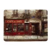 Set of 4 Cafe Scene Placemats