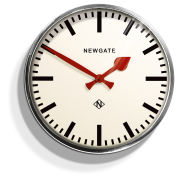 Putney Chrome Wall Clock
