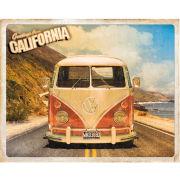 VW Camper Cali Camper - Mini Poster - 40 x 50cm