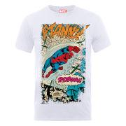 Marvel Spider-Man Ftanng Men's T-Shirt - White