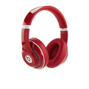 Beats By Dr Dre: Studio 2.0 Noise Cancelling Headphones with RemoteTalk - Red - Grade A Refurb