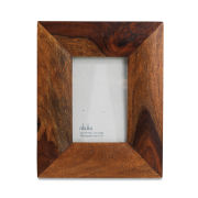 Nkuku Sheesham Brown Wood Frame - 4x6 Inches