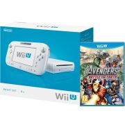 Wii U Console: 8GB Basic Pack - White (Includes Avengers: Battle for Earth)