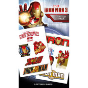 Iron Man 3 Characters - Tattoo Pack