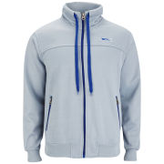 Slazenger Men's Gascoigne Track Top - Grey/Crown Blue