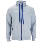 Slazenger Men's Gascoigne Track Top - Grey/Crown Blue