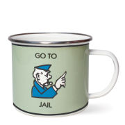 Monopoly Go To Jail Enamel Mug