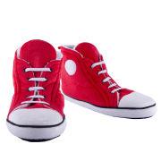 Women's Slipper Boots - Red