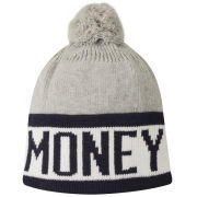 Money Men's Money Block Bobble Hat - Grey Marl