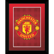 "Manchester United Club Crest - 8"""" x 6"""" Framed Photographic"