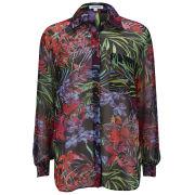 Glamorous Women's Floral Print Shirt - Multi