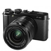 Fujifilm X-M1 Compact System Camera with 16-50mm IS Lens (HD 1080p, 16MP, Wi-Fi, 3 Inch LCD) - Black