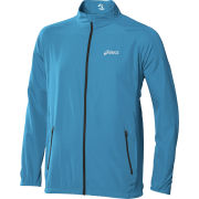 Asics Men's Woven Running Jacket - Atlantic Blue