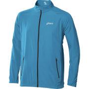 Asics Men's Woven Running Jacket - Atlantic Blue
