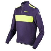 Nalini Pro Gara Fersina Long Sleeve Jersey - Purple/Yellow