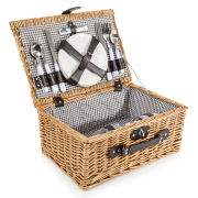 Coast & Country - 4 Person Willow Hamper Basket
