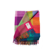 Avoca Lambswool Circus Throw (142 x 183cm) - Multi
