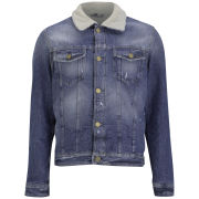 Jack & Jones Men's Jean Denim Jacket - Blue Wash