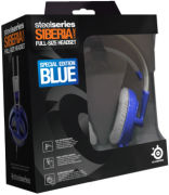 SteelSeries Siberia Full Size Headset - Blue
