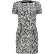 French Connection Women's Sahara Wave Slash Neck Dress - Acid Multi