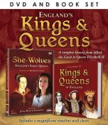 Great British Icons: Kings and Queens (Bevat Boek)