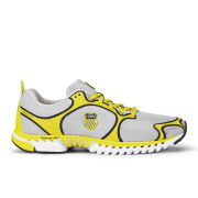 K-Swiss Men's Kwicky Blade-Light Running Shoes - Silver/Yellow/White