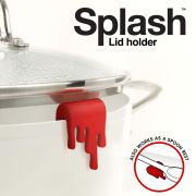Splashed Lid Holder